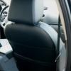 Чехлы для Ford Focus 2 из черной  экокожи с ромбом №8