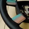 Руль Ford Focus 2 из комбинации гладкой и перфорированной натуральной кожи №2