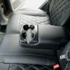 Чехлы для Ford Focus 2 из черно-серой  экокожи с ромбом №6