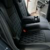 Чехлы для Ford Focus 2 из черно-серой  экокожи с ромбом №9