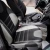 Чехлы для Ford Focus 3 из черно-серой  экокожи №1