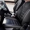 Чехлы для Ford Focus 3 из черно-серой  экокожи №3