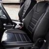 Чехлы для Ford Focus 3 из черно-серой  экокожи №4