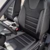 Чехлы для Ford Focus 3 из черно-серой  экокожи №5