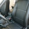 Чехлы из черной экокожи для Ford Focus 2 №1