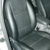 Чехлы из черной экокожи для Ford Focus 2 №6