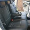 Чехлы из черной экокожи для Ford Focus 2 №9