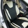 Черно-белые чехлы для Ford Focus Trend Sport №1
