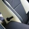 Черно-белые чехлы для Ford Focus Trend Sport №3