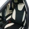 Черно-белые чехлы для Ford Focus Trend Sport №4
