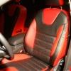Красно-черные авточехлы для Ford Focus 3 Titanium №1