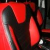 Красно-черные авточехлы для Ford Focus 3 Titanium №7