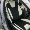 Черно-белые авточехлы для Ford Focus 3 Titanium №1