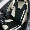 Черно-белые авточехлы для Ford Focus 3 Titanium №2