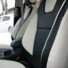 Черно-белые авточехлы для Ford Focus 3 Titanium №4