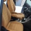 Чехлы для Ford Galaxy из бежевой экокожи №1