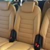 Чехлы для Ford Galaxy из бежевой экокожи №12