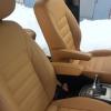 Чехлы для Ford Galaxy из бежевой экокожи №2