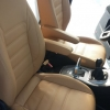 Чехлы для Ford Galaxy из бежевой экокожи №3
