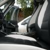 Авточехлы из черно-белой экокожи для Ford Galaxy №7