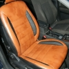 Чехлы из черно-коричневой экокожи для Ford Mondeo 4 №1