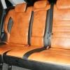 Чехлы из черно-коричневой экокожи для Ford Mondeo 4 №2