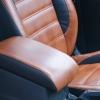 Чехлы из черно-коричневой экокожи для Ford Mondeo 4 №9