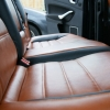 Чехлы из черно-коричневой экокожи для Ford Mondeo 4 №13