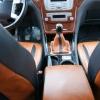 Чехлы из черно-коричневой экокожи для Ford Mondeo 4 №16