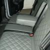 Чехлы из серо-черной экокожи для Ford Mondeo 4 №1