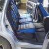 Черно-синие авточехлы для Ford S-max