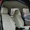 Авточехлы из белой экокожи для Land Rover Freelander №2