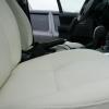Авточехлы из белой экокожи для Land Rover Freelander №
