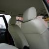Авточехлы из белой экокожи для Land Rover Freelander №5