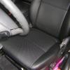 Черные чехлы из экокожи для Suzuki Grand Vitara 5D №4