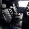 Чехлы для  Jeep Grand Cherokee из черной и синей экокожи  №12