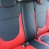 Красно-черный салон Hyundai Solaris. Перетяжка экокожей №3