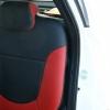 Красно-черный салон Hyundai Solaris. Перетяжка экокожей №5