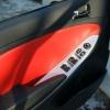 Красно-черный салон Hyundai Solaris. Перетяжка экокожей №9