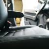 Чехлы из черной экокожи для Honda CRV 3
