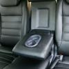 Чехлы из черной экокожи для Honda CRV 3 фото 7