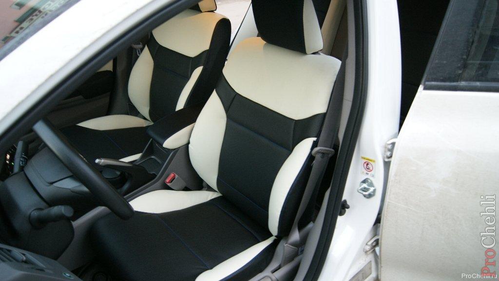 Авточехлы для Honda Civic 5 с 1991-1997г. седан Задняя ...