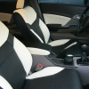 Топовые авточехлы из экокожи для Honda Civic New №2