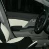 Топовые авточехлы из экокожи для Honda Civic New №10