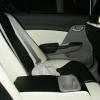 Топовые авточехлы из экокожи для Honda Civic New №12