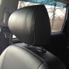 Чехлы для  Honda FR-V из черной и серой экокожи с двойной отстрочкой №5