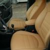 Чехлы для Hyundai Creta из бежевой экокожи №2