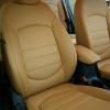 Чехлы для Hyundai Creta из бежевой экокожи №5