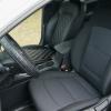 Чехлы для Hyundai Elantra 6 из черной экокожи с ромбом №1