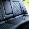 Чехлы для Hyundai Elantra 6 из черной экокожи с ромбом №10